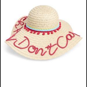 Shiraleah Women's Pink Beach Hair Don't Care Hat